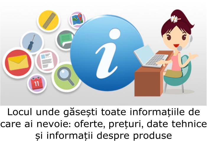 Locul unde găsești toate informațiile de care ai nevoie: oferte, prețuti, date tehnice !